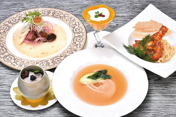豪華広東式の宴コース
