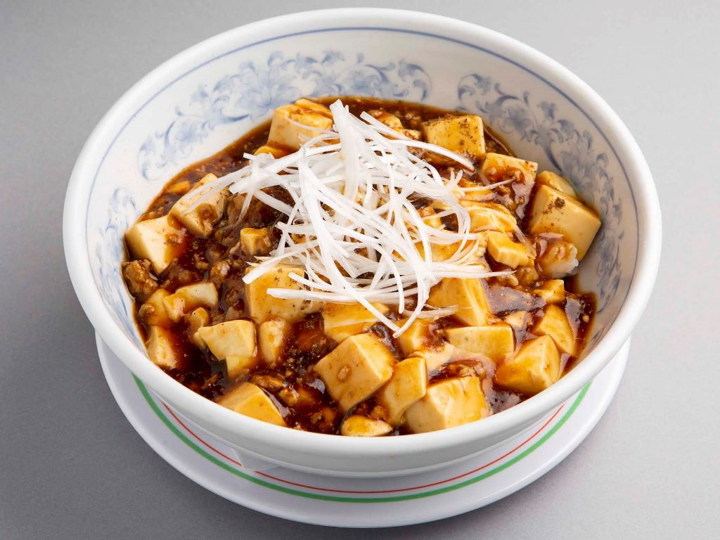 麻婆丼(シウマイ2個付)