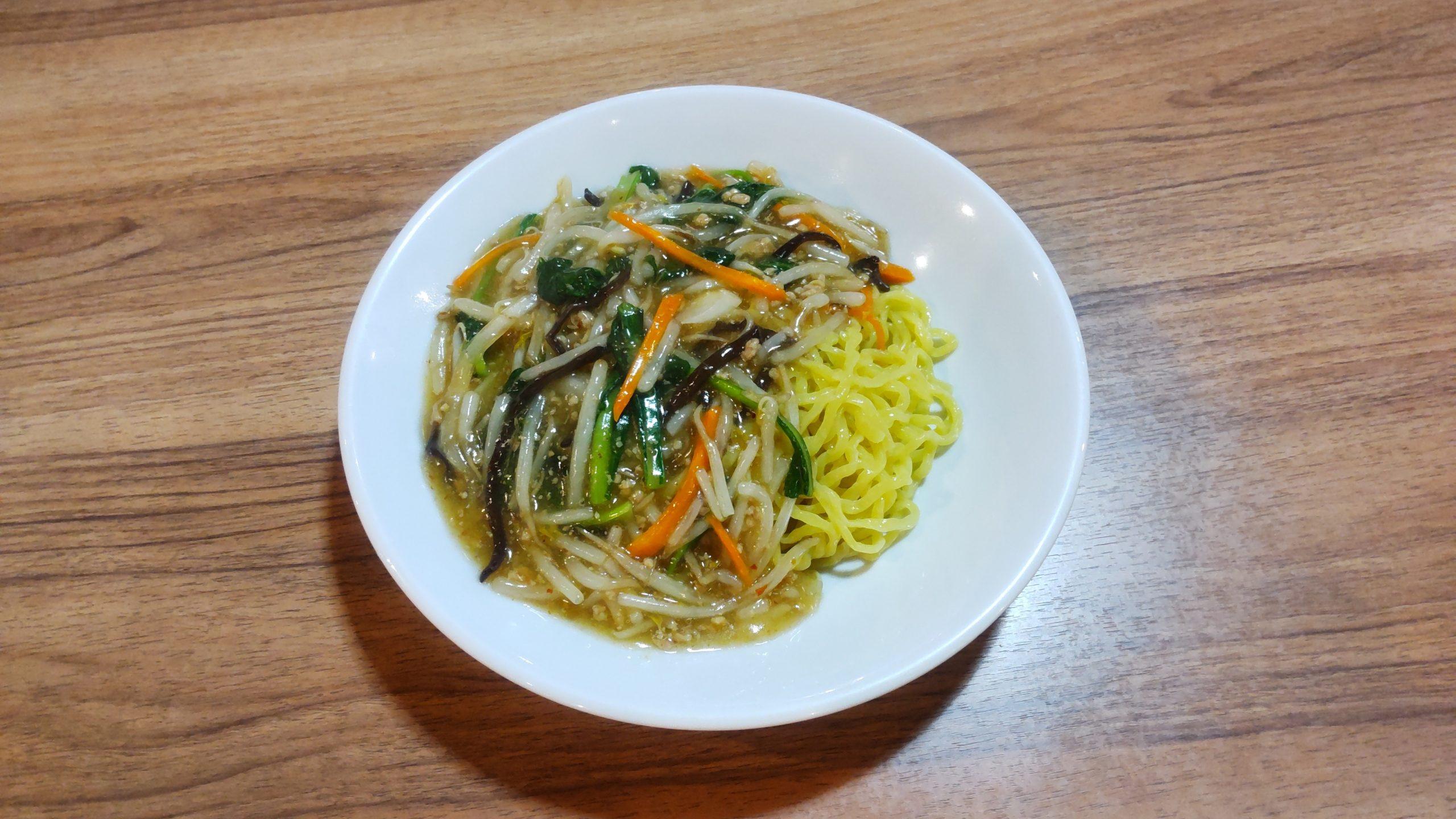 汁なしサンマー麺